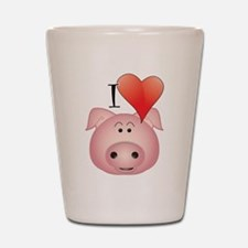 Cute Pig Shot Glass