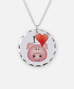 Funny Pig Necklace
