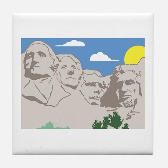 Unique Lincoln park Tile Coaster