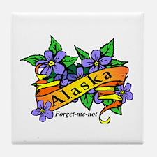 Funny Alaska Tile Coaster