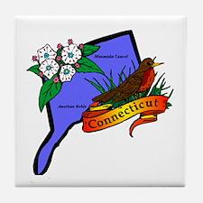 Connecticut Tile Coaster