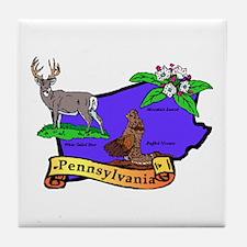 Pennsylvania Tile Coaster