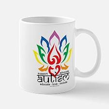 Autism Lotus Flower Mug
