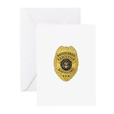 badge Greeting Cards (Pk of 20)