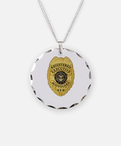 badge Necklace