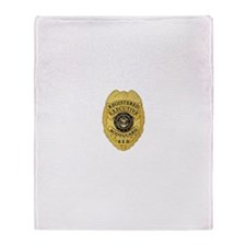 badge Throw Blanket