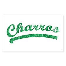 Vintage Charros Decal