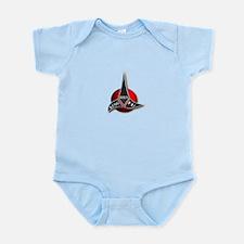 Kung fu logo Infant Bodysuit