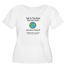 Talk To The World Ham Radio T-Shirt