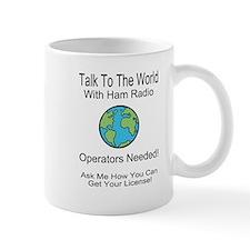 Talk To The World Ham Radio Mug