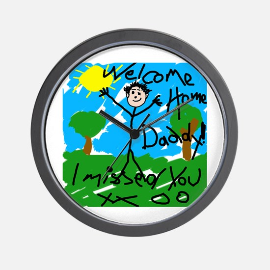 I Missed You! Wall Clock