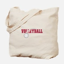Cute Mens volleyball Tote Bag