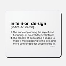 interior design DEFINITION Mousepad