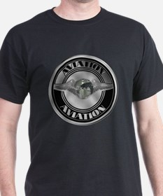 Retro Aviation Badge T-Shirt