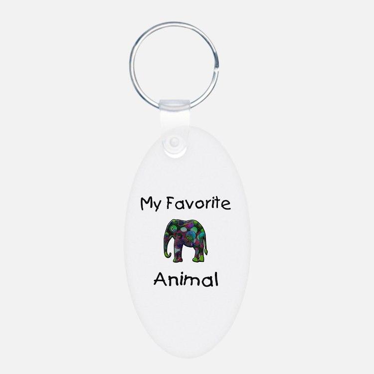 My Favorite Animal Keychains