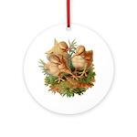 Chicken Chicks Ornament (Round)