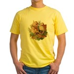 Chicken Chicks (Front) Yellow T-Shirt