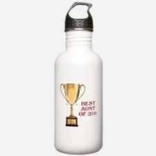 Best aunt of 2011 Water Bottle