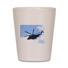 Pave Low Copter Shot Glass