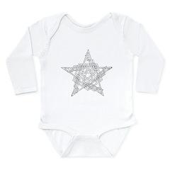 Pentragram Two Long Sleeve Infant Bodysuit