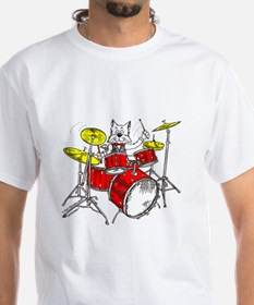 Drums in color Trans BackII T-Shirt
