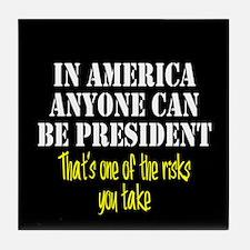 American President Tile Coaster