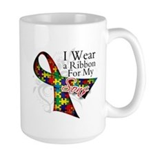 For My Sons - Autism Mug