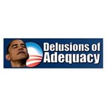 Delusions of Adequacy Sticker (Bumper 50 pk)