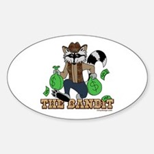 The Bandit Sticker (Oval)