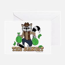 The Bandit Greeting Card