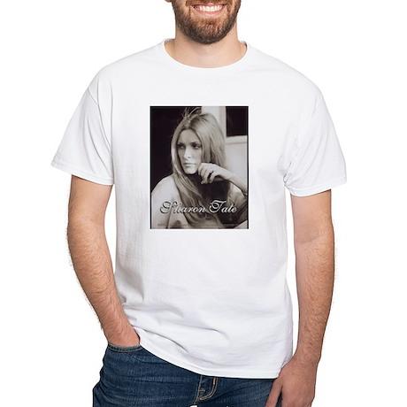 Gaze White T-Shirt