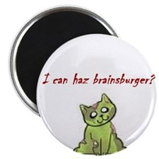 """Cute Zombies 2.25"""" Magnet (10 pack)"""