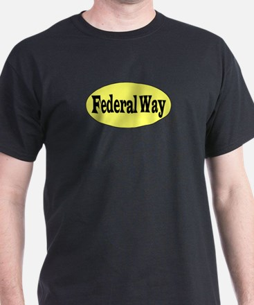 Federal Way, Washington Black T-Shirt