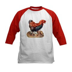 Chicken Hen with Chicks (Front) Tee