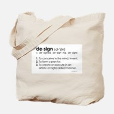 design DEFINITION Tote Bag
