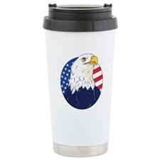 Hero - Puprle Ribbon Thermos Can Cooler