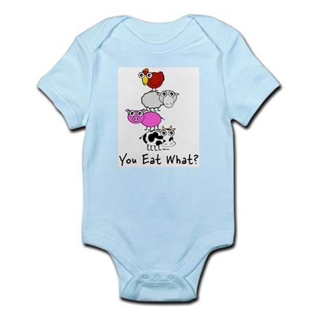 You Eat What Infant Creeper
