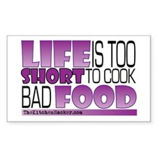 Cute Cook for life Decal