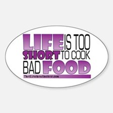 Cute Chef life Decal