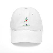 Peace, Love, & Cloth Diapers Baseball Cap