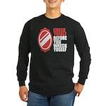 80's slang Long Sleeve Dark T-Shirt