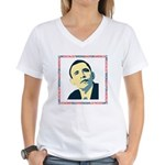 antiobama Women's V-Neck T-Shirt