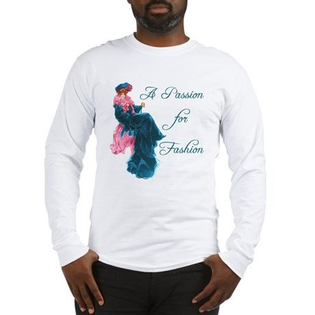 A Passion for Fashion Vintage Long Sleeve T-Shirt