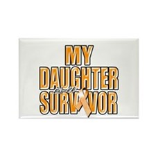 My Daughter is a Survivor Rectangle Magnet