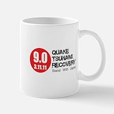 9.0 Quake Tsunami Recovery Re Mug