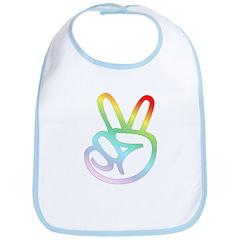 Rainbow Pieces Bib