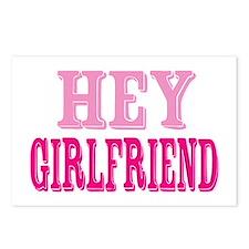Hey Girlfriend Postcards (Package of 8)