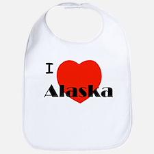 I Love Alaska! Bib
