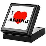 I Love Alaska! Keepsake Box