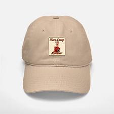 Horn Dawg Leather Baseball Baseball Cap